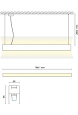 Biffi Timber 2M Linear Pendant