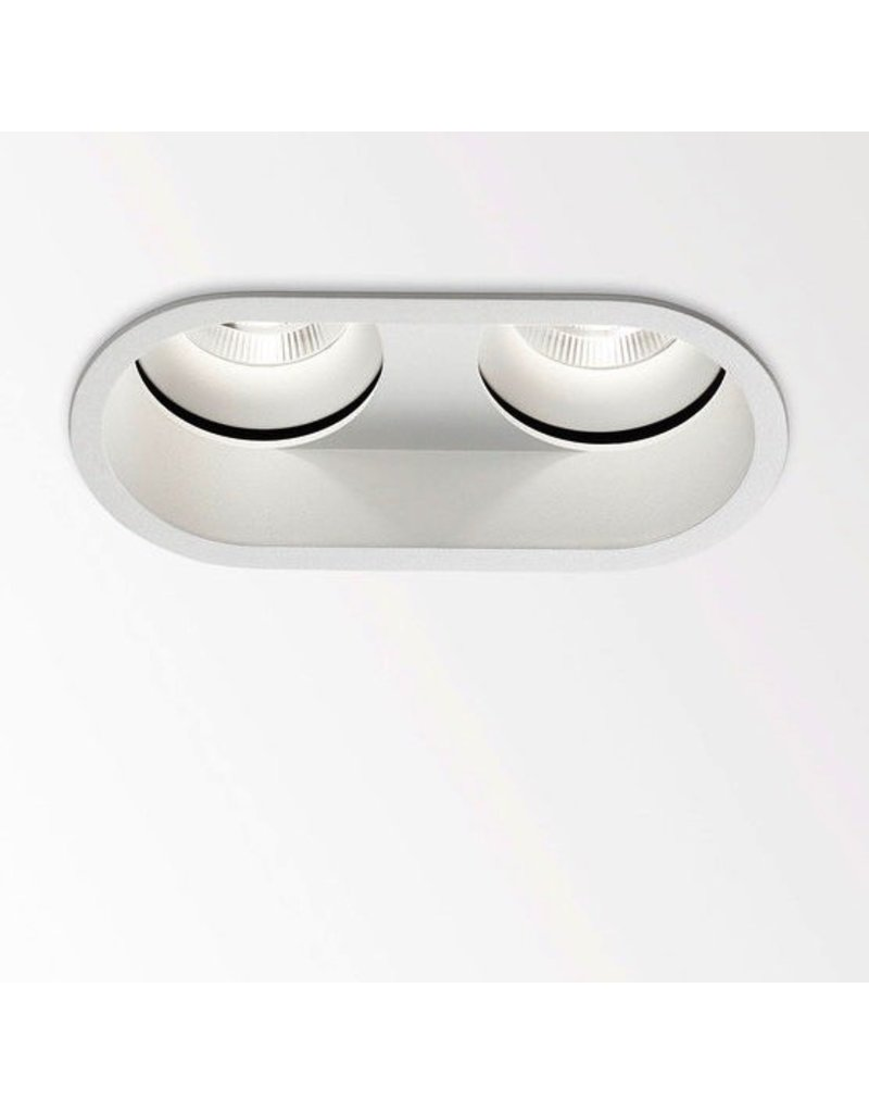 Delta Light Diro Duo Dual LED Ceiling Adjustable Recessed Light