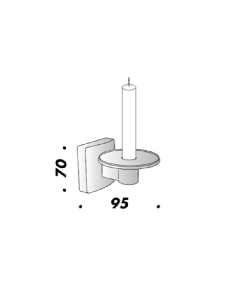 VBO Candle holder with Candle