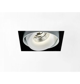 Delta Light Square Recessed Snap-in Adjustable Downlight