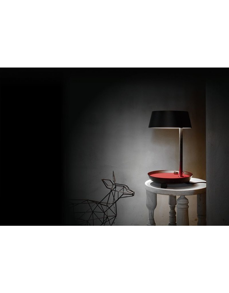 Seed Design USA SQ-6350MDU-BK Carry Table Lamp Black