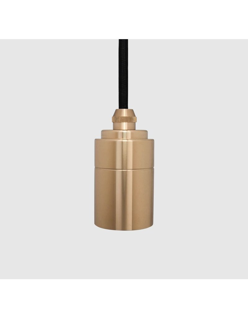 Tala Minimalist Single Socket Brass Pendant