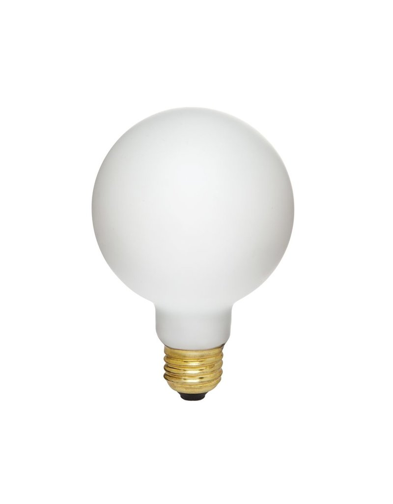 Tala Hand blown matt white bulb