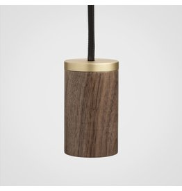 Tala Minimalist single socket Wood pendant