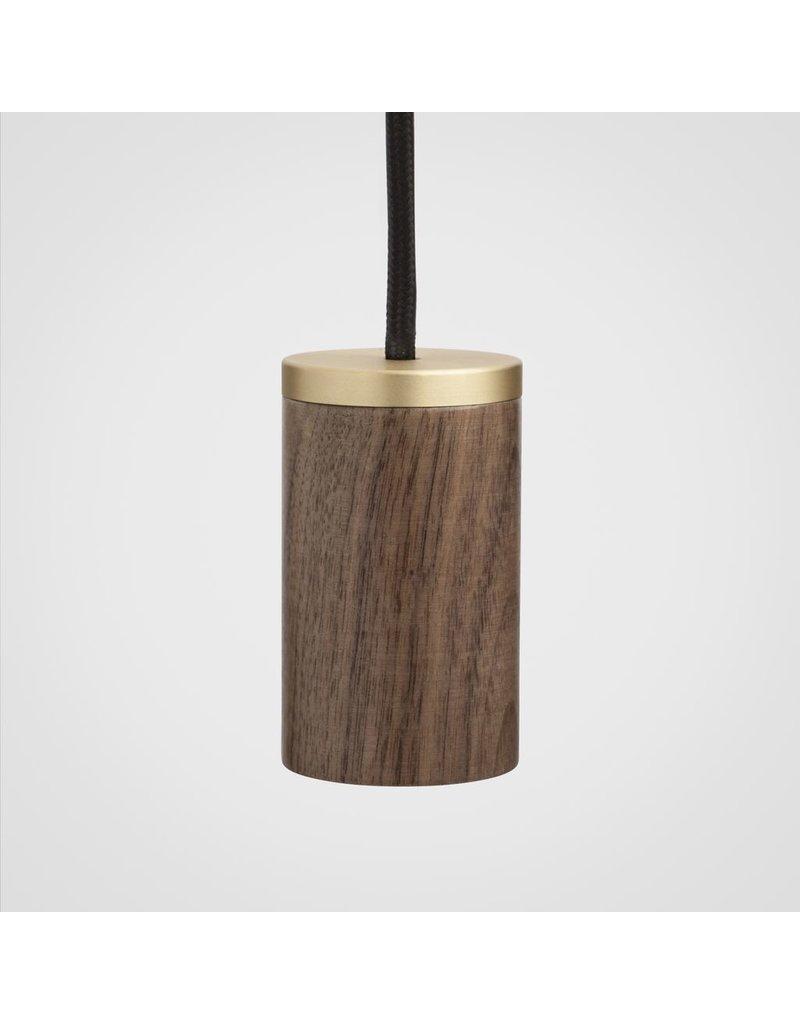 Tala Minimalist single socket Wood pendant
