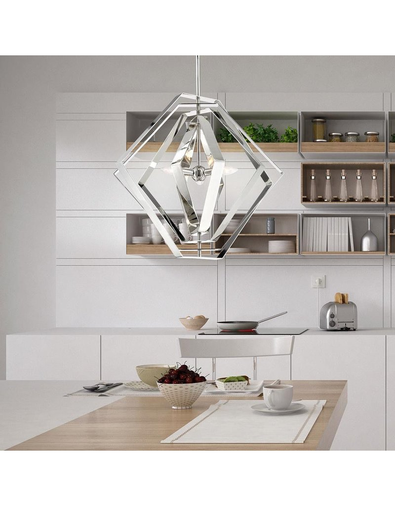 Eurofase Downtown 3-Light Chandelier - CLEARANCE 590$
