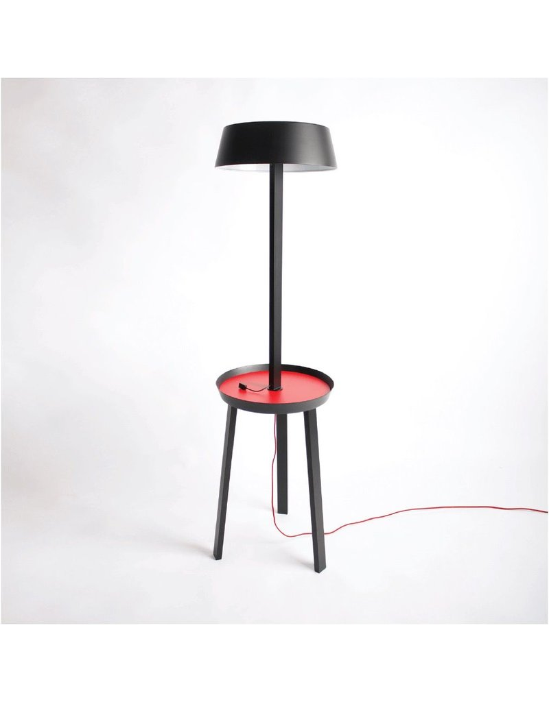 Seed Design Carry Floor lamp with integrated plate & USB port
