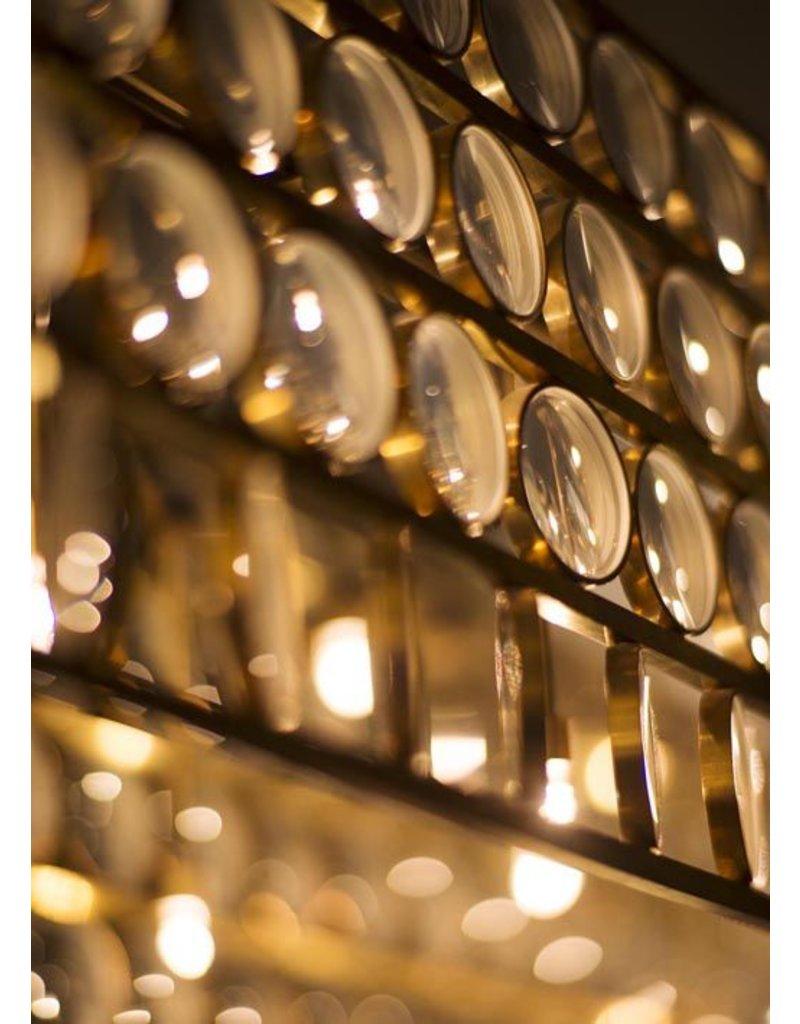 Viabizzuno Da Ma Lens Glass LED Pendant