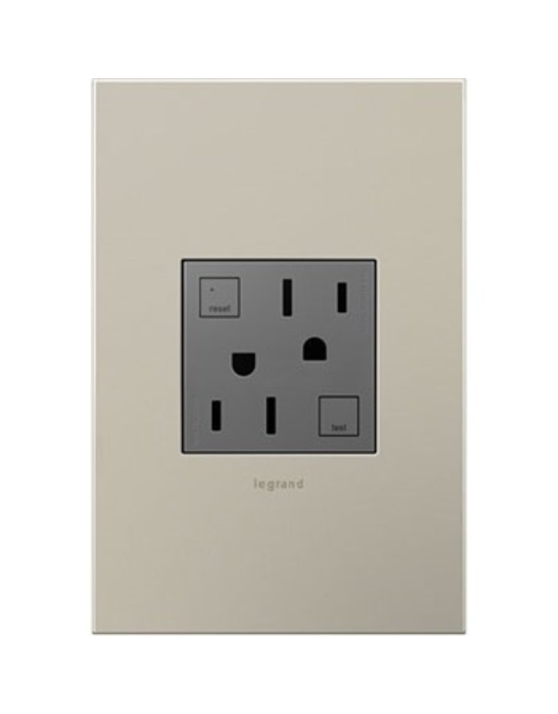 Adorne Tamper resistant electrical outlet