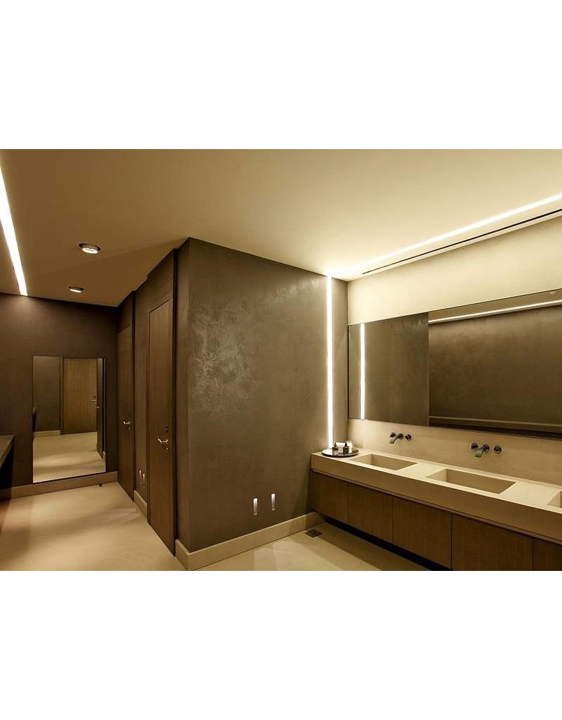 Delta Light Microline TRW+ Recessed Glarefree Trimless Corner Profile