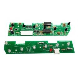 7-Opto Trough Board Set for Williams/Bally Widebody Pinball Machines  A-16926-RX  &  A-16927-TX