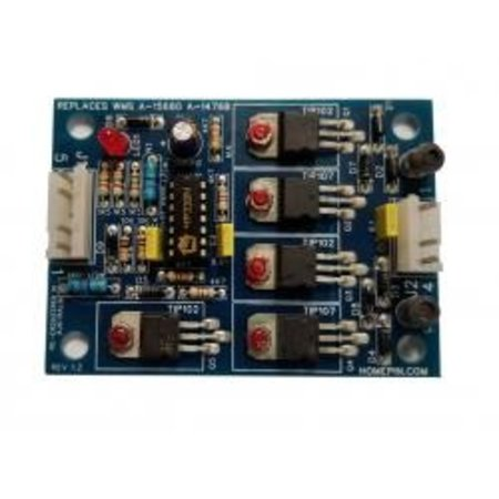 Bi-Directional Motor Drive Board for Bally/Williams Machines - A-15680/A-14768