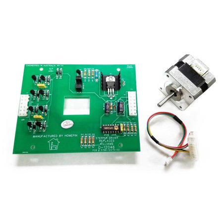 Stepper Driver Board with Motor & Harness D-12046M