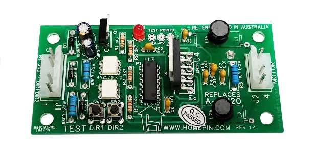 Motor Drive Replacement Board for Williams/Bally Machines - A-16120