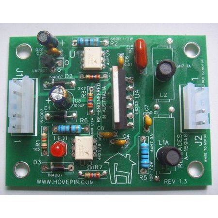 Bridge Driver Replacement Board For Williams Indiana Jones - A-15946