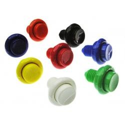 """Cabinet Flipper Button (Opaque) 1-1/8"""" Shaft"""