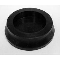 Footies -Black Silicone Casters -High Gloss  (Set of 4)