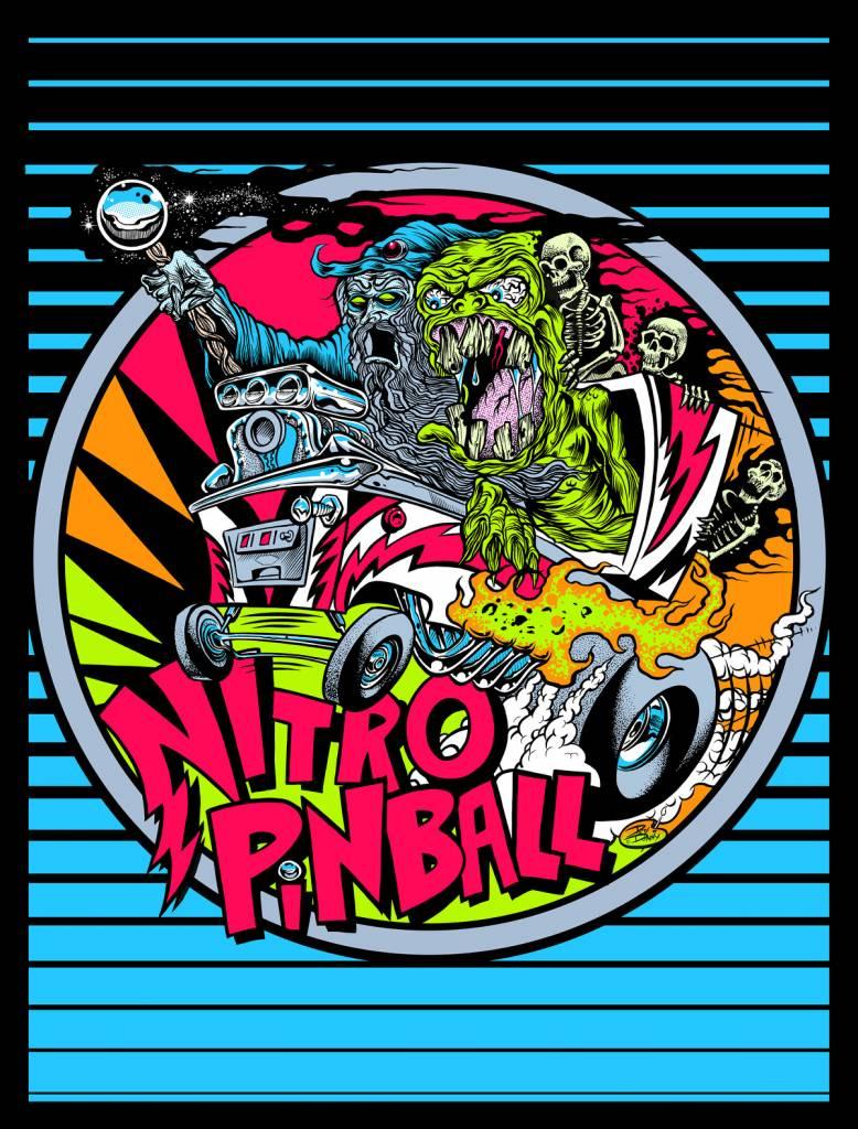 Nitro Pinball L.E. Poster