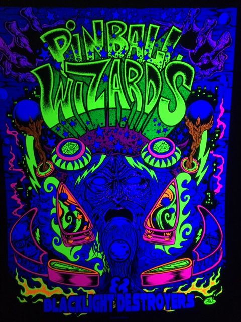 Pinball Wizards Poster
