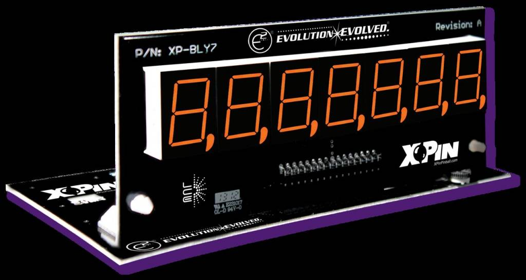 Bally/Stern 7-Digit Display XP-BLY2518-58
