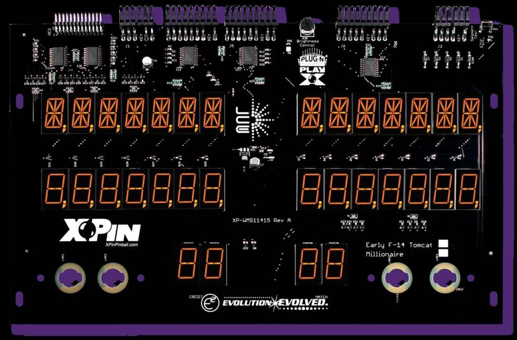 Williams 7-Digit Display XP-WMS11415-M