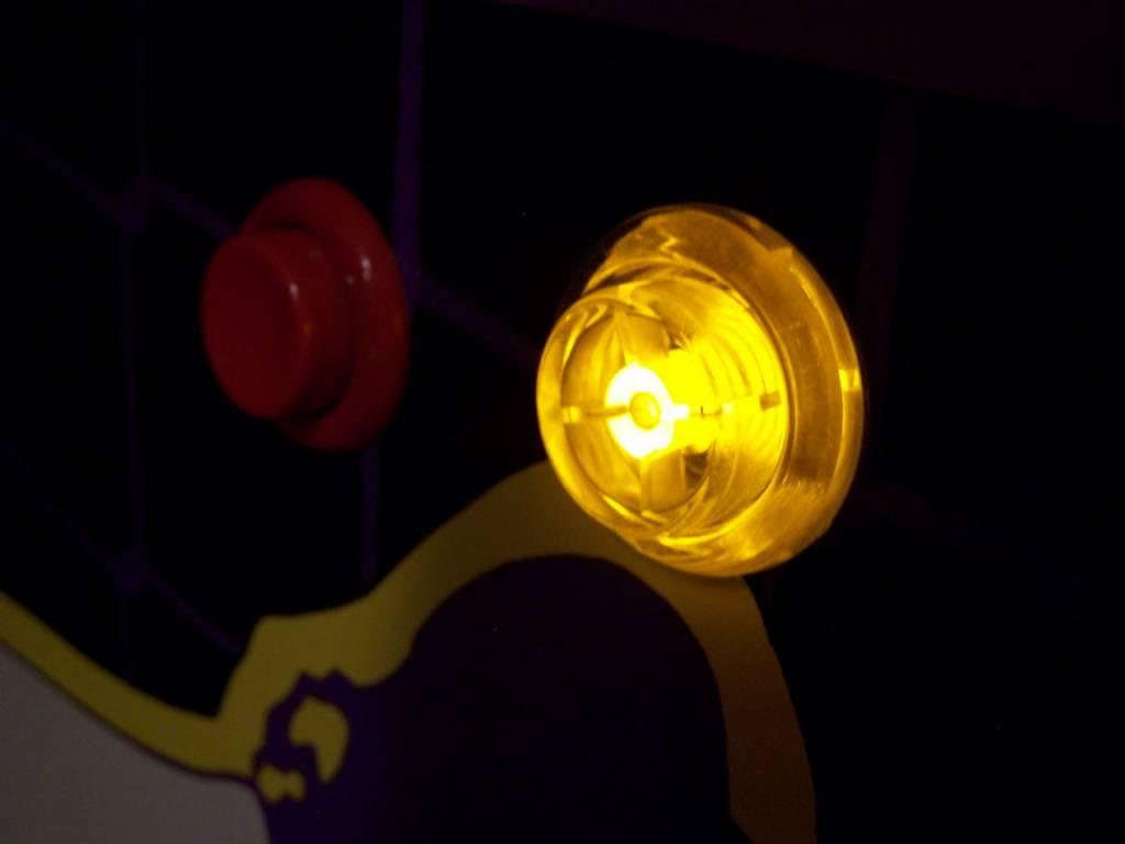 LED Flipper Button Kit-Stern