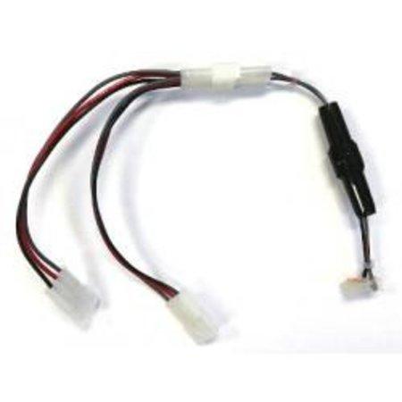 """Spike 12v Power Adapter - 6"""" w/ 2way """"Y"""" Splitter"""