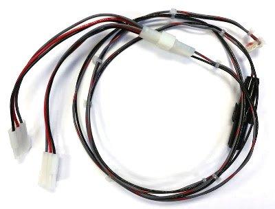 """Power Adapter-Spike 53"""" Long w/2way """"Y"""" Splitter"""