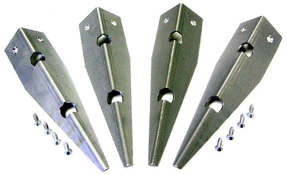 Cabinet Protectors - Metal (Set of 4)