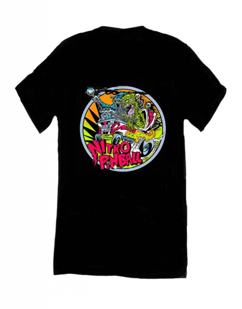 Nitro Pinball Dirty Donny T-Shirt w/chest Logo