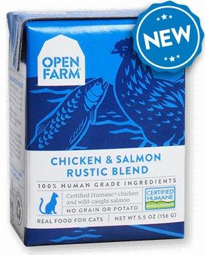 Open Farm Open Farm Cat Chicken & Salmon Blend 5.5oz