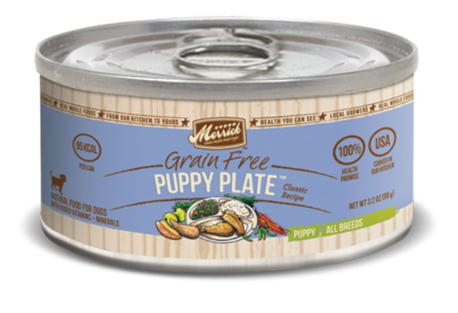 MERRICK Merrick Puppy Plate 3.2 oz Can
