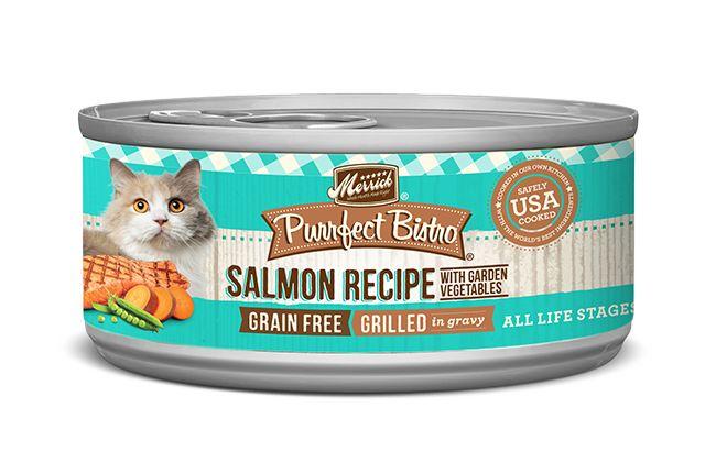 MERRICK Merrick Purrfect Bistro Cat Grilled Salmon & Veggies 5.5 oz Can