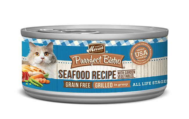 MERRICK Merrick Purrfect Bistro Cat Grilled Mixed Seafood 5.5 oz Can