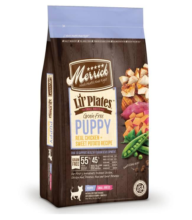 MERRICK Merrick Lil' Plates Grain-Free Puppy 4 lb