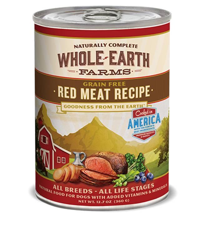 WHOLE EARTH FARMS Merrick Whole Earth Farms Red Meat Recipe 12.7 oz Can