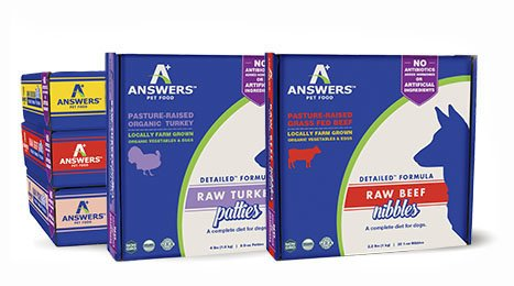 Answers Answers Detailed Frozen Dog Formula - Beef