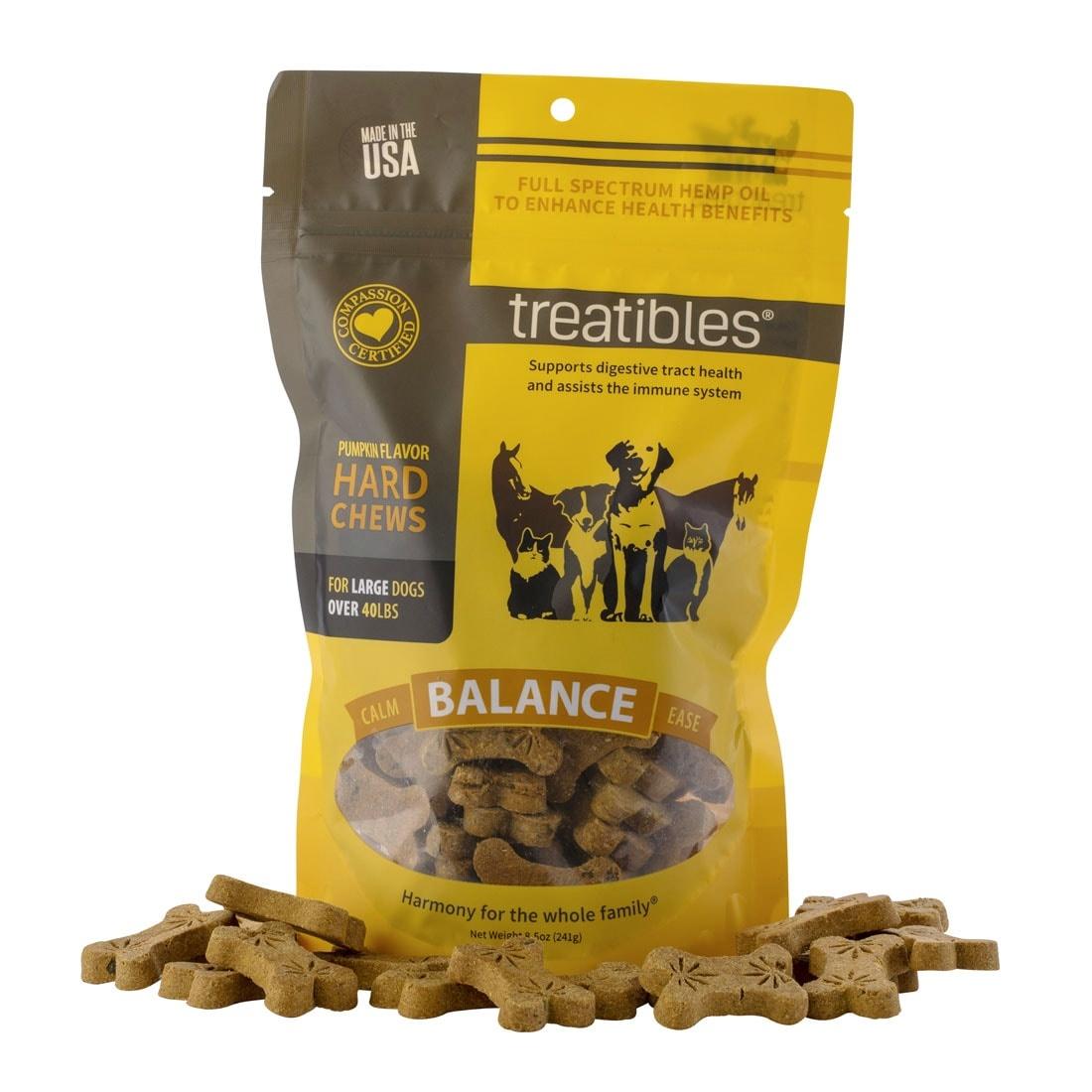 Treatibles Treatibles Hard Chews -  6oz Sml/Med Pumpkin