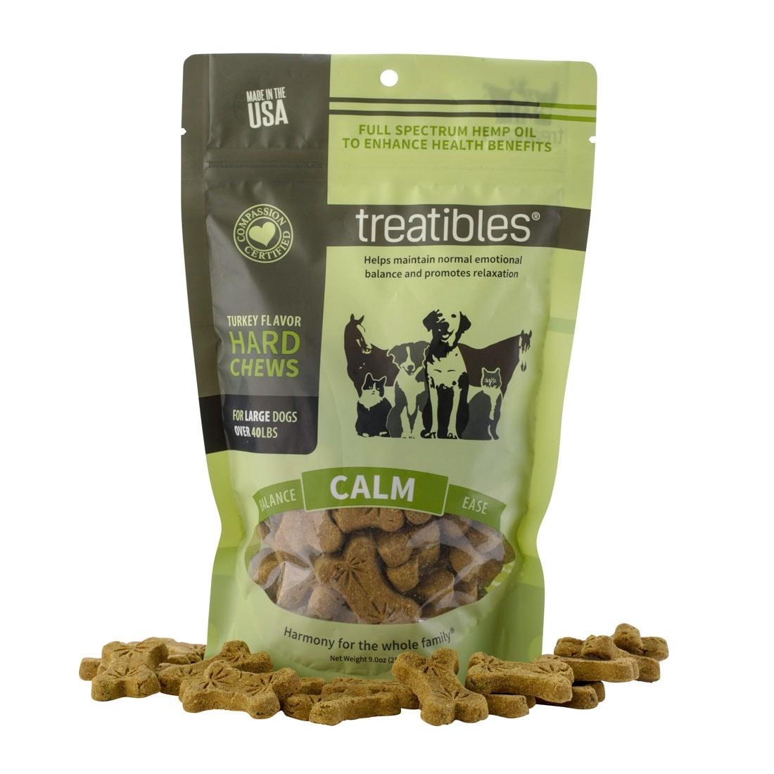 Treatibles Treatibles Hard Chews Intro - 1oz Sml/Med Turkey