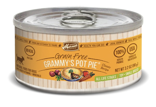 MERRICK Merrick Grammy's Pot Pie 3.2 oz Can