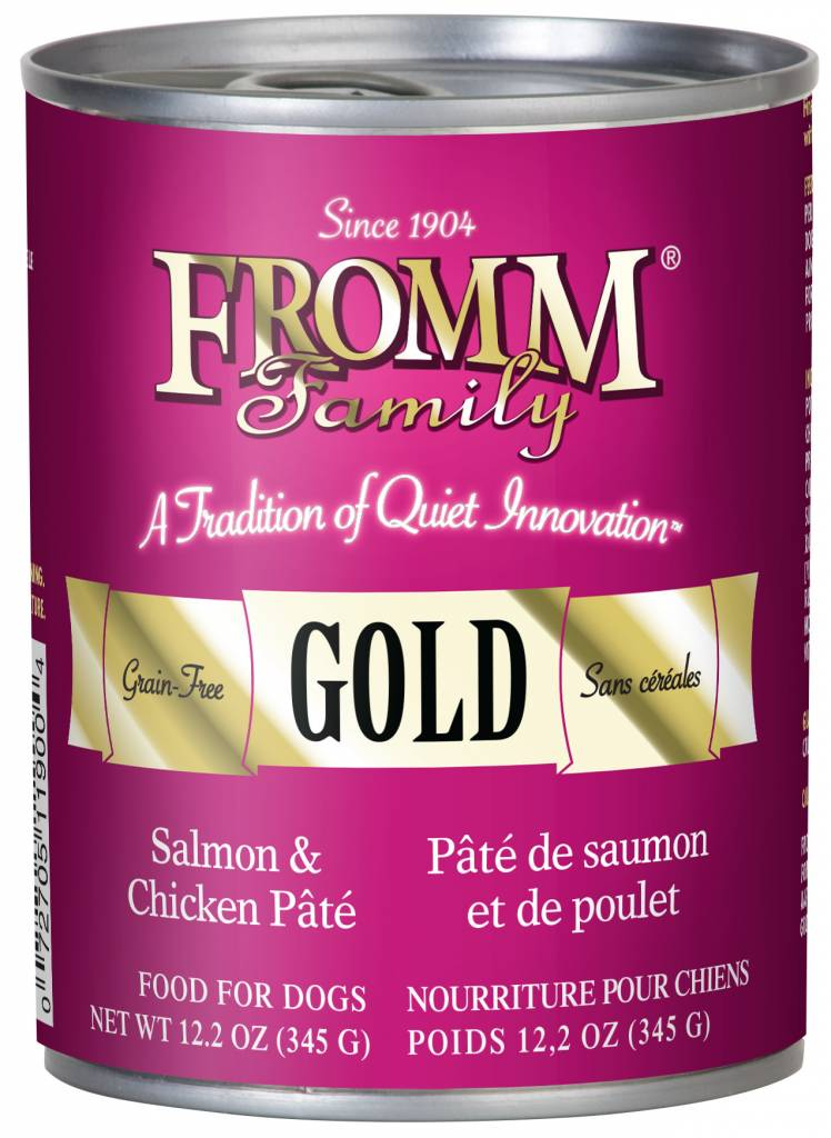 FROMM Fromm Gold Pate Salmon and Chicken 12.2oz