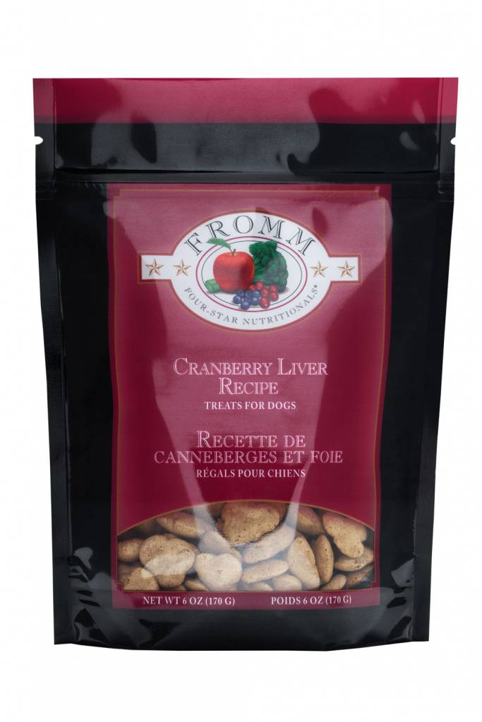FROMM Fromm Low Fat Cranberry Liver Recipe 6oz