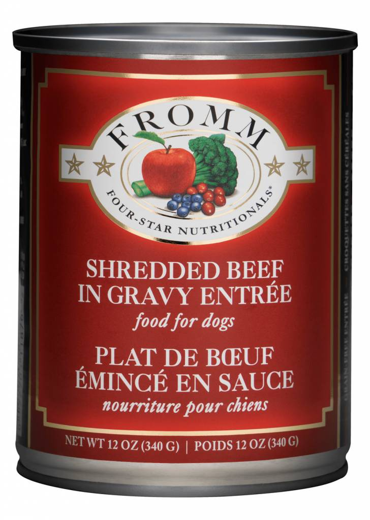 FROMM Fromm Four-Star Shredded Beef 13oz