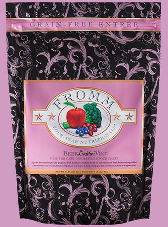 FROMM Fromm Cat Four-Star Beef Livattini Vegetable 2lb