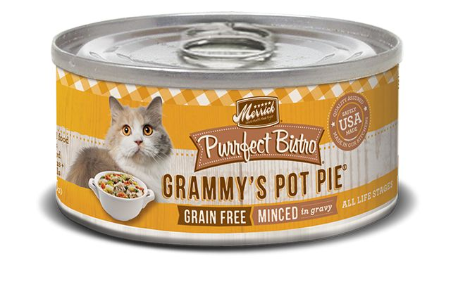 MERRICK Merrick Purrfect Bistro Cat Grammy's Pot Pie 3 oz Can