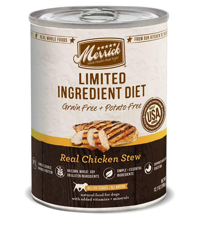 MERRICK Merrick Limited Ingredient Diet Grain-Free Chicken 12.7 oz Can