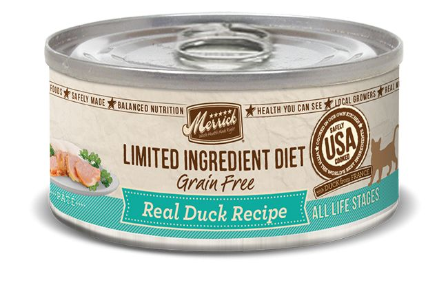 MERRICK Merrick Cat Limited Ingredient Diet Grain-Free Duck 5.5 oz Can
