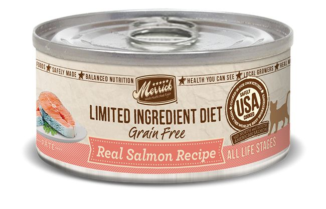 MERRICK Merrick Cat Limited Ingredient Diet Grain-Free Slmn 5.5 oz Can