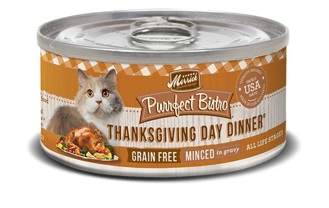 MERRICK Merrick Purrfect Bistro Cat Thanksgiving Day 3 oz Can