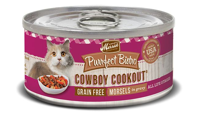 MERRICK Merrick Purrfect Bistro Cat Cowboy Cookout 3 oz Can